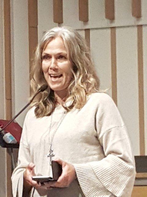 Prost Kristin Saxegaard ønsker velkommen