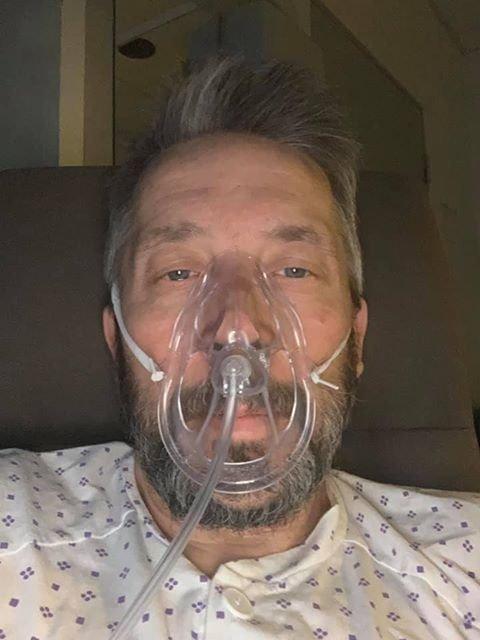DRAMATISK: Hans Ole Braathen ble lagt i isolat og trengte surstoff på Gjøvik sykehus.