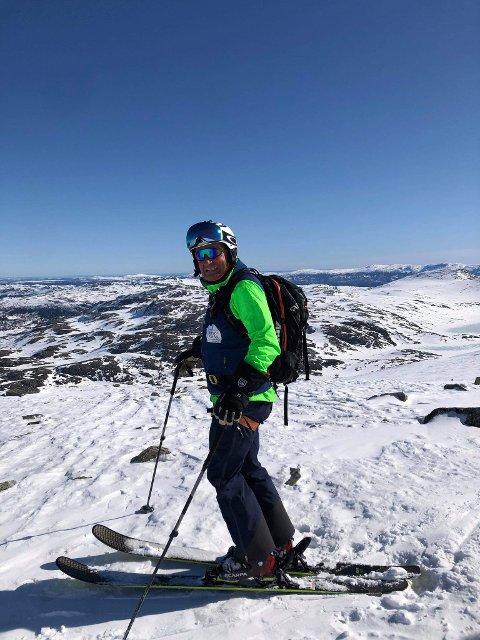 SUPRE FORHOLD: - Alle er så fornøyde at det er en fryd, sier Torgeir Urdal som driver TUrdal Ski & Fjell og som er fullbooket i hele påsken.