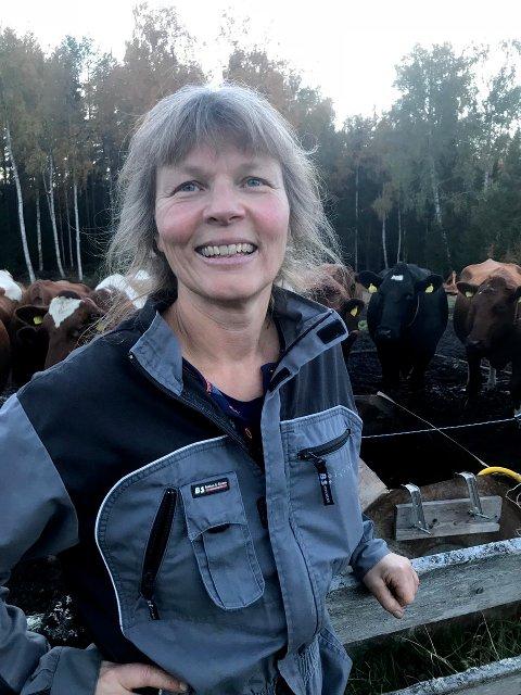 Kjersti Hoff fra Løten blir ny leder i Norsk Bonde- og Småbrukarlag. Foto: Norsk Bonde- og Småbrukarlag / NTB scanpix.