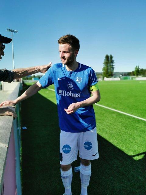 LEGENDE: Lørdag spilte Jon Erik Økland sin 300. kamp for Eidsvold Turn.