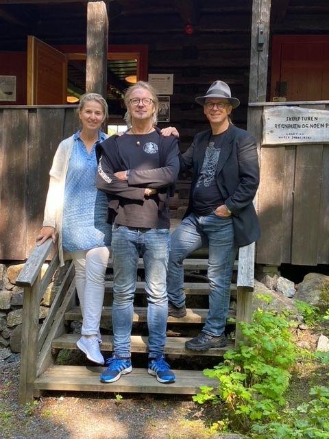 Tobbe Malm, Solveig M. Skogseide og Tore Wilhelmsen stiller ut i Sandbekkstua.