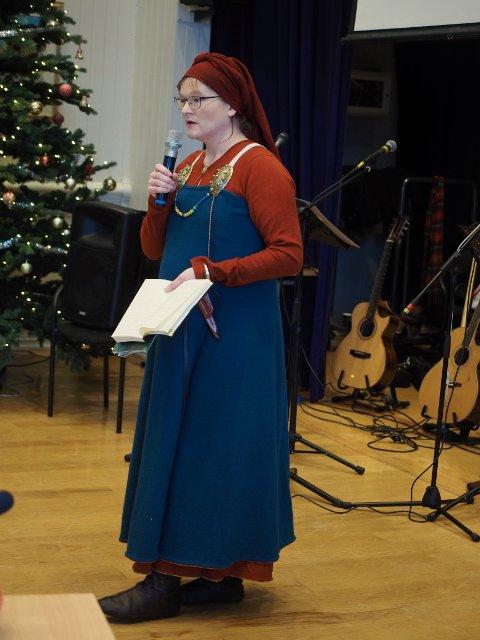 Astri Granly Bryde fortalte om funn fra vikingtiden