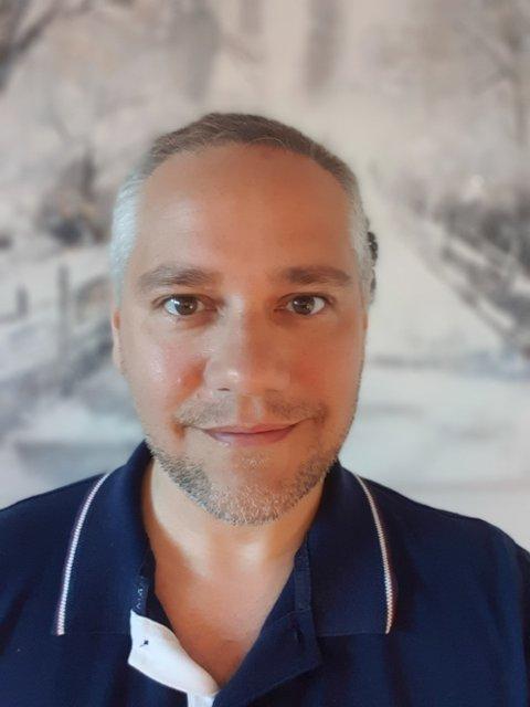 NYVALGT LEDER: Jan Fredrik Vogt fra Sande.