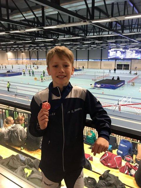 Siver var fornøyd med bronsemedalje på 60 m hekk