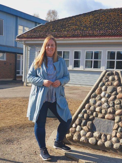 ENGASJERT.: Annette Frey Larsen ønsker seg endra bedre oppvekstvilkår for barn og ungdommer i kommunen.