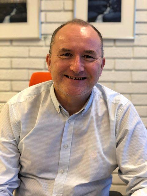 POSITIV: Kommunedirektør Hans Erik Utne har håp om at Holmestrand kommune kan følge nasjonal gjenåpningsplan fra 13. juni.