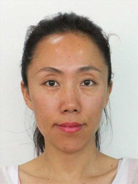 Dette bildet av den svanede, knisiske kvinnen Xi Li (37) er tatt i juni, i Norge.