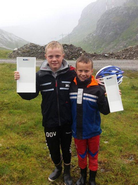 SEIRE: Brødrene Oskar og Lars Opstad Vike fra Andebu vant hver sin distanse i Blinkfestivalen.
