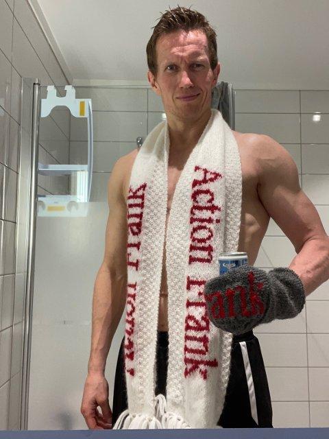 ACTION FRANK: Frank Løke elsker knallharde konkurranser og har nå vunnet ultraløpet «Hagemanns primtalløp».