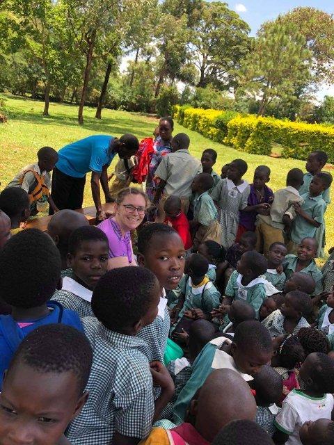 TILLITSFULLE: Det at tilfeldigheten førte Cecilie Vestly Halvorsen til Jinja har sørget for at hun nå har opprettet en norsk hjelpeorganisasjon for barna i området.