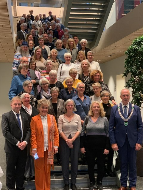 Under en samling i rådhuset var det mange som ble takket for uvurderlig innsats knyttet til vaksineringen.
