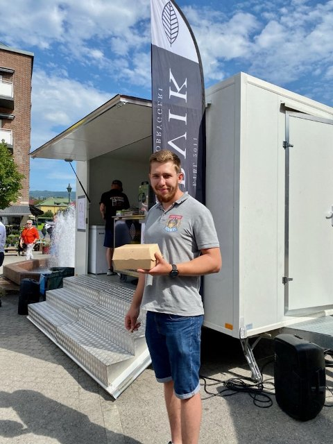Damian Piechaczek er daglig leder i Street Food Norway.