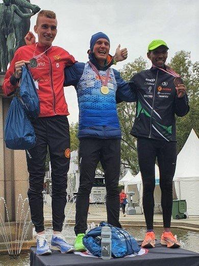 Sondre Nordstad Moen, Marius Vedvik og Frew Zenebe Brkineh-