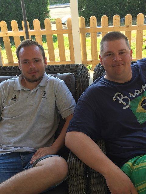 Joshua Karesch og Patrick Walther Larsen er tilbake med Breddepodden.