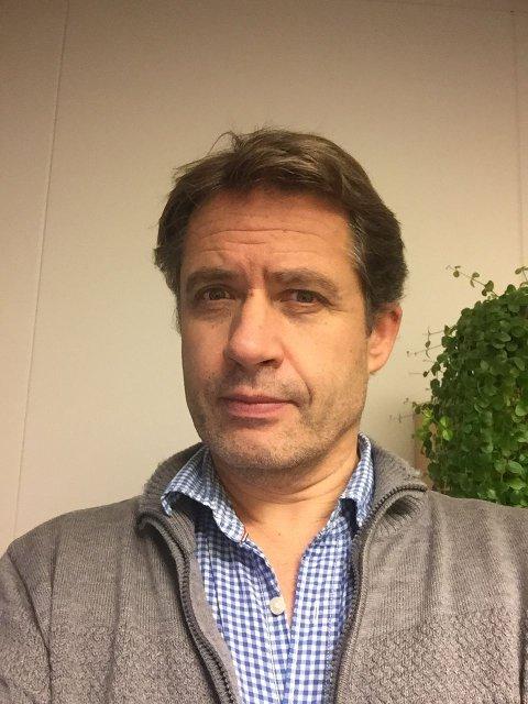 André Baraldsnes, Seniorrådgiver ved NORCE Research AS - Regionalt kunnskapssenter for Barn og Unge. (Foto: NORCE)