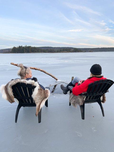 ISBADING: På Fjeld gård kan du nå melde deg på isbading.