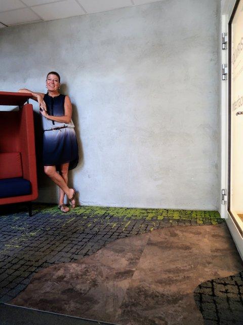 Sterke farger er en del av biofilisk design, sier Laila Berg Nygaard.