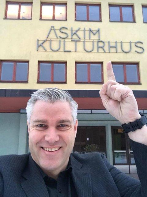 Leide kulturhuset: Leif Ingvald Skaug fikk med seg sponsorer til å betale leien i kulturhuset.
