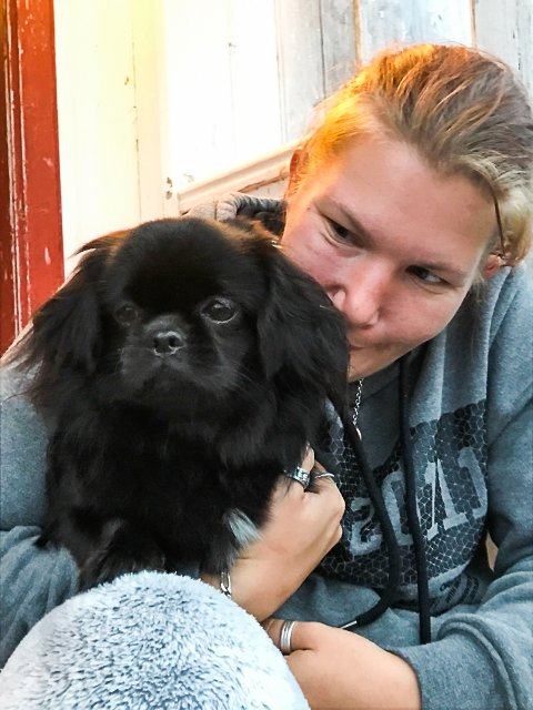 Godt vennskap: Cora og matmor Hege Harestad.