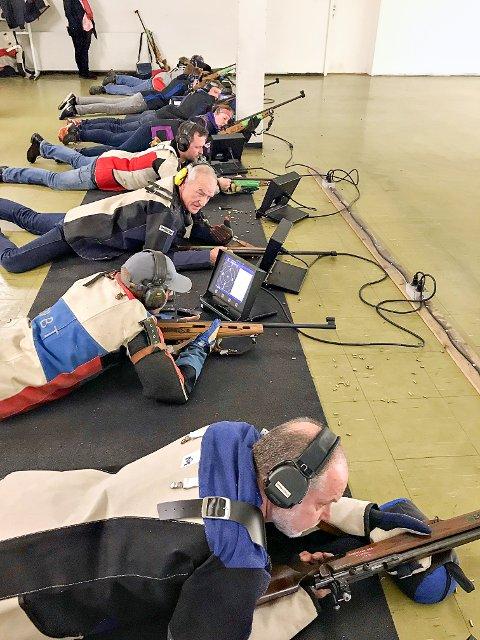 Det er stor aktivitet i Spydeberg skytterlag. Omlag 50 skyttere deltok på juleskytinga.
