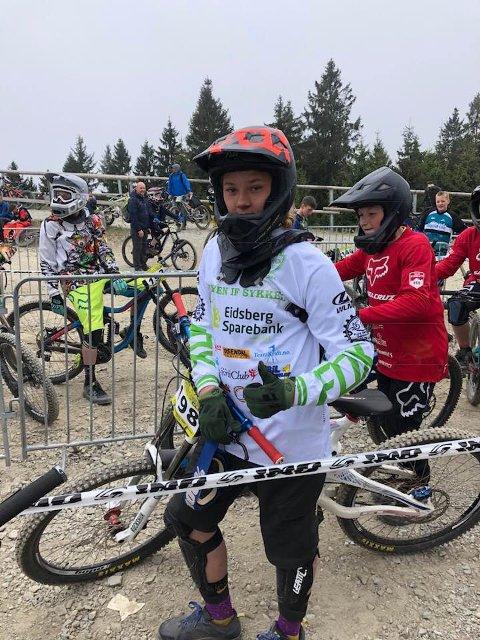FORNØYD: Mysen-gutten er fornøyd med oppholdet og konkurransen. Foto: Privat