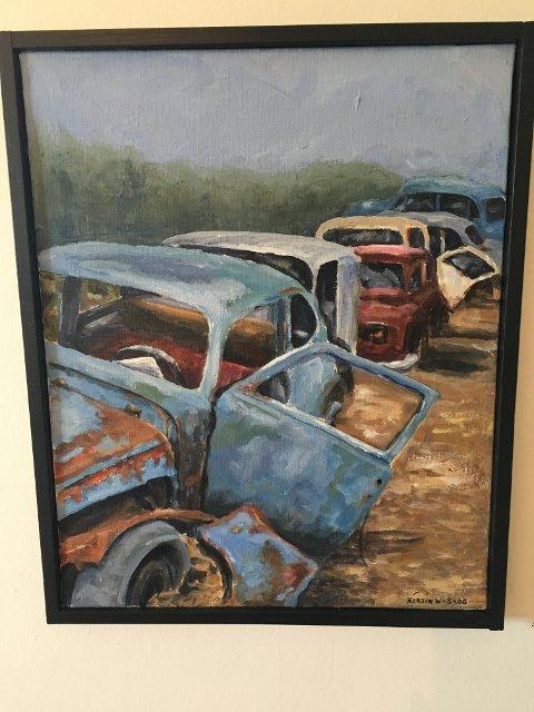 Dette maleriet er av Kerstin Wikeberg-Skog.
