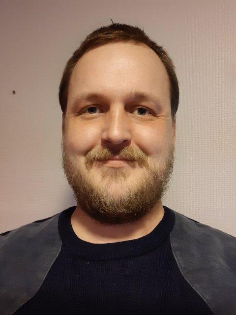 NY LEDER: Einar Borgund