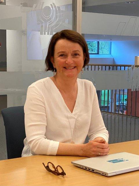 REKTOR: Anne Johanne Hatlinghus har takket ja til stillingen som rektor ved Mære landbruksskole.