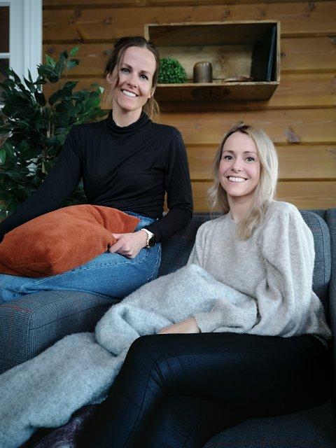 NYTT FIRMA: Systrene Kathrine og Marthe Sjøvoll frå Sogndal har starta sitt eige firma og går no nye vegar mot interiør og styling.