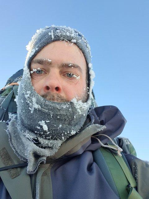 Christian Klopstad har møtt motstand på sin ferd til Nordkapp.