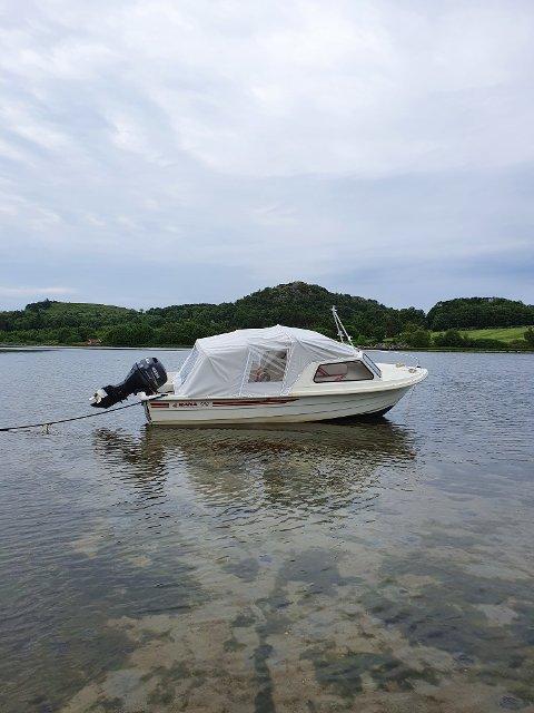 Det var denne båten som dukket opp.