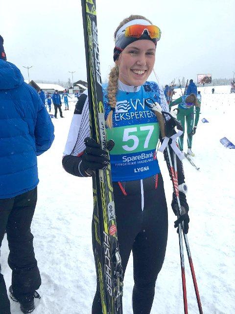 TOK POENG: Mari Hetlesæter tok ein sterk 23. plass på 5 kilometer klassisk.