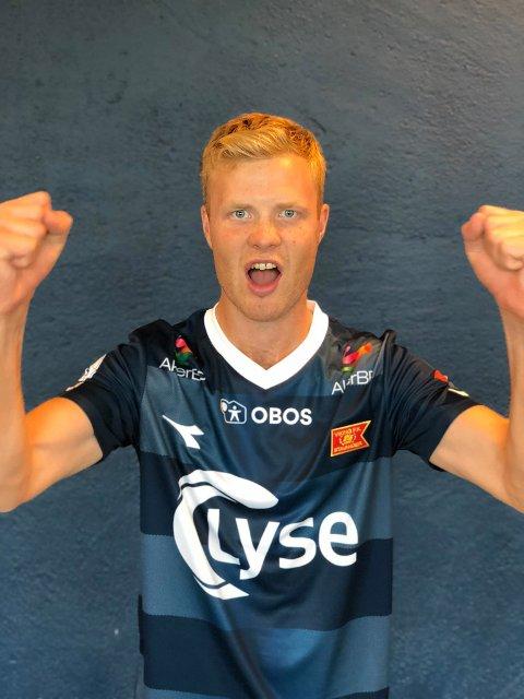 Søndag debuterte Even Østensen for Viking på Viking stadion.