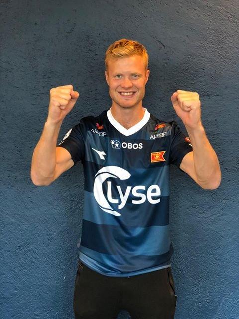 Even Østensen håper på eliteseriespill med Viking. (Foto: Viking Fotball)
