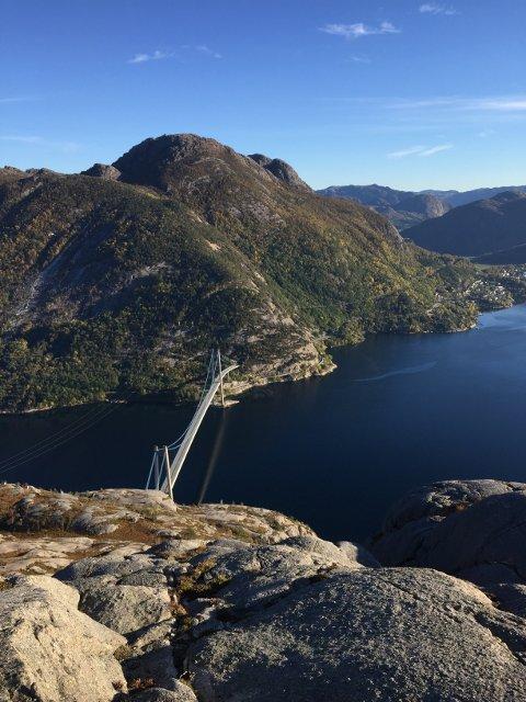I morgon kan dei som bur på nordsida av Lysefjorden begynna å førehandsrøysta over om dei vil til Nye Sandnes eller Strand.