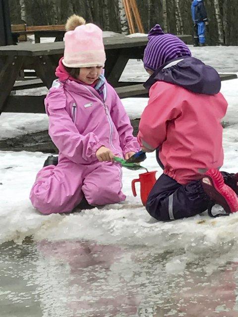 Barnas lek: var tema for barnehagedagen som ble avviklet den 14. mars i år.