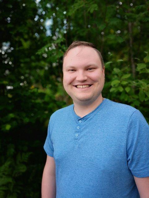 Ny Kapellan: Andreas Nornes fra Horten tiltrer som ny kapellan i Svelvik etter sommeren.Foto: Privat