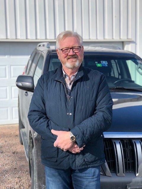 Dag Ebbestad nyter tilværelsen som pensjonist