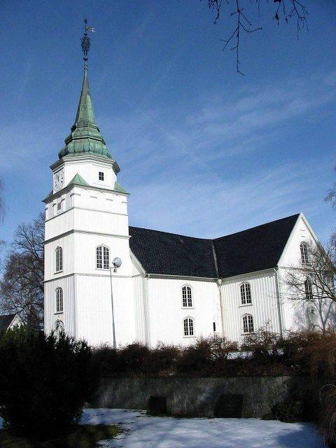 Håper fortsatt: Komitéen for gjenoppbygging har ikke gitt opp håpet om at Østre Porsgrunn kirke kan se slik ut i framtiden.