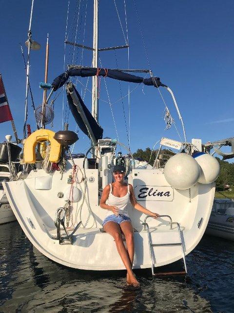 Eline (23) skal tilbringe resten av studiene sine i båten hun er oppkalt etter.