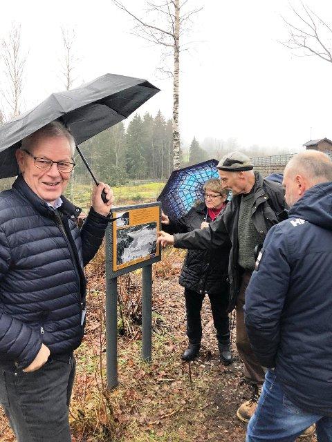 VELLYKKET: - Jeg er veldig godt fornøyd med arrangementet ved Gorningdammen, sier ordfører Kjell Sølverød.