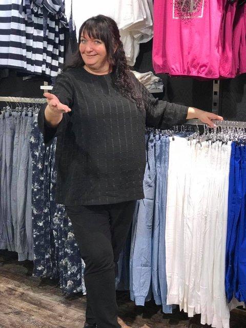 NY PÅ SENTERET: Butikken Nays, drevet av Siv Hilde Borgeraas, er siste nye butikktilskudd på Brotorvet.