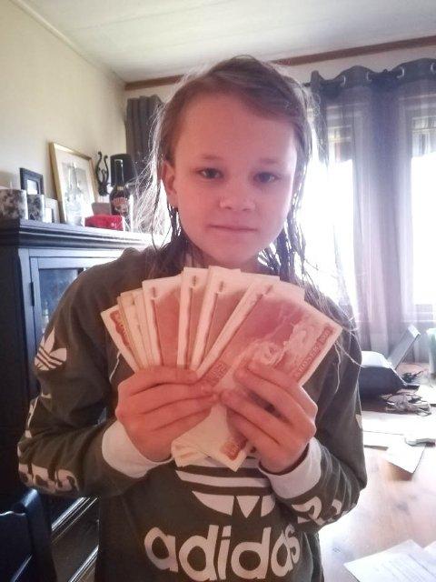 SPENT: Ole Didrik Fosse Didriksen er spent på om politiet finner ut hvem som eier pengene han fant.