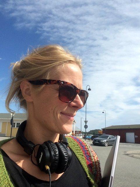 Vil INspirere: Thea Danielsen Fjørtoft vil inspirere og lære unge mer om film, og Jomfruland er en flott og velegnet location for filming, mener hun. FOTO:PRIVAT