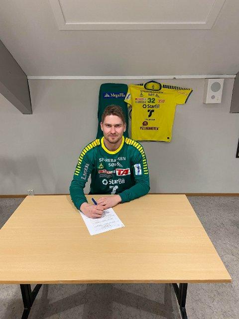 SATSER: Herkules henter hjem Jostein Pedersen (26) etter spill i Eliteserien.