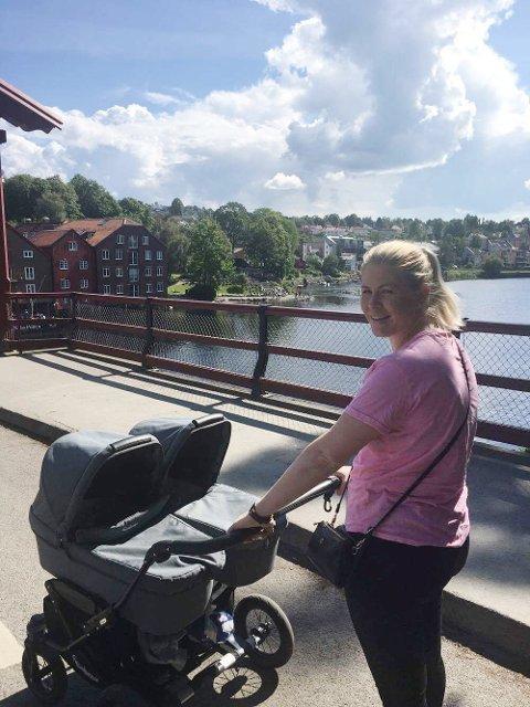 Mali Iren Dyrseth fra Angvik ble i sommer mor til tvillinggutter. Fødselen er med i tv-serien «Fødeavdelingen» som sendtes på FEM.