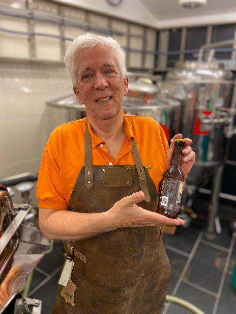 Robert Giske og Averøy Håndbryggeri brygger stadig på nye godsaker. Lørdag lanserte de et nytt øl: «Havbris på Kaia».