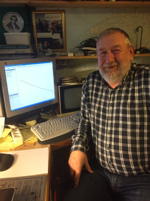 Etter at Ånund Ottesen ble pensjonist bruker han tiden sin på patenter.