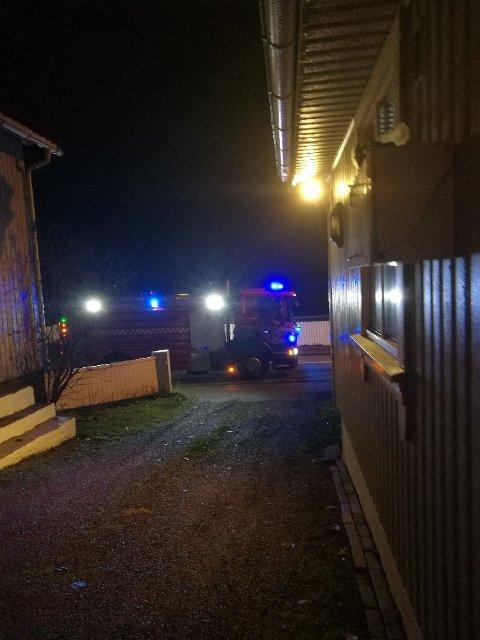 Kollisjonen skjedde like ved et bolighus i Falkenstensveien